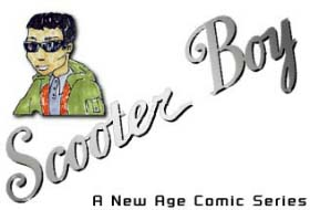 Scooter Boy(TM): An Interactive Comic Series